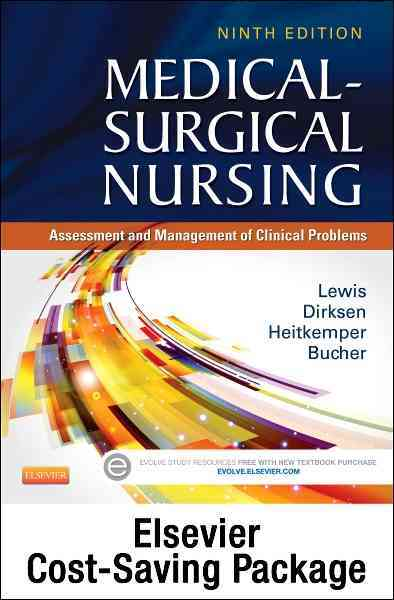 Medical-surgical Nursing Single Volume Text + Study Guide By Lewis, Sharon L.